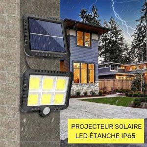 projecteur exterieur solaire led jardin