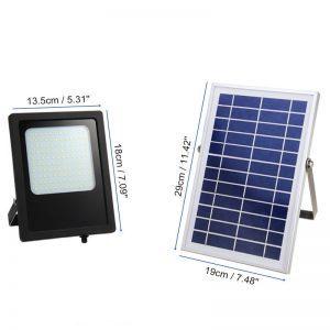 projecteur extérieur solaire puissant dimensions