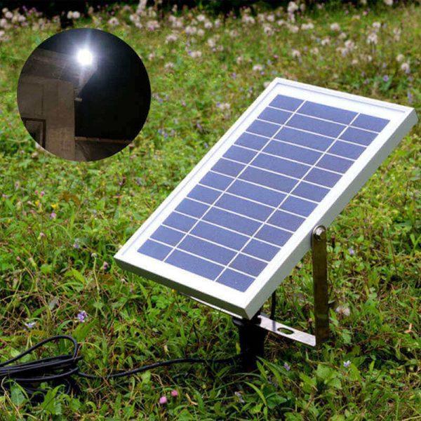 projecteur extérieur solaire puissant jardin