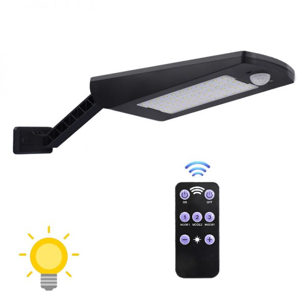 projecteur led solaire télécommande