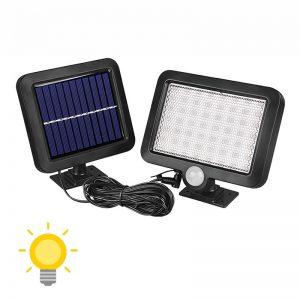 projecteur solaire extérieur avec detecteur de mouvement