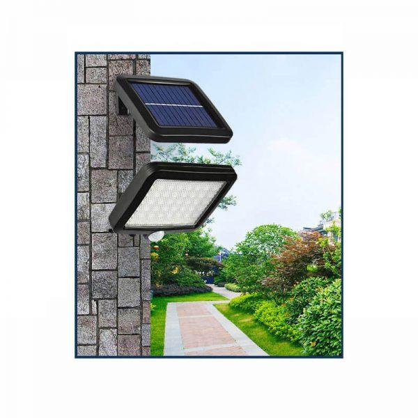 projecteur solaire extérieur avec detecteur de mouvement terrasse