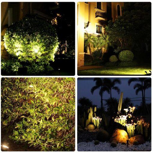 spot solaire arbre eclairage