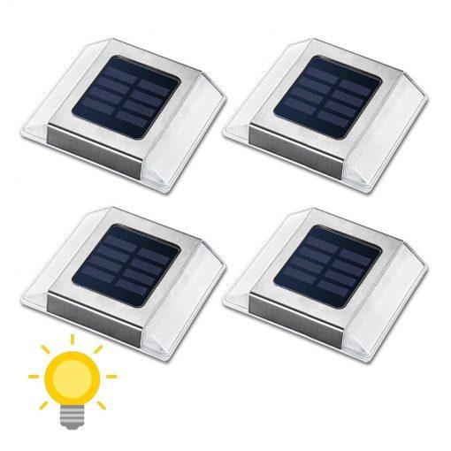 spot solaire escalier