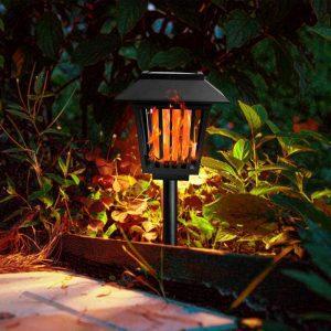 torche solaire 96 led jardin