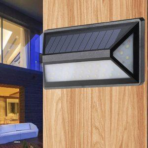 Applique extérieur solaire détecteur mouvement jardin