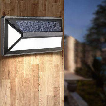 Applique extérieur solaire détecteur mouvement led