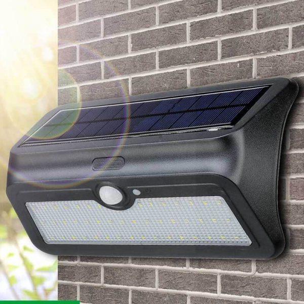 applique eclairage exterieur solaire led