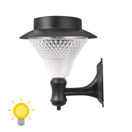 applique lanterne solaire