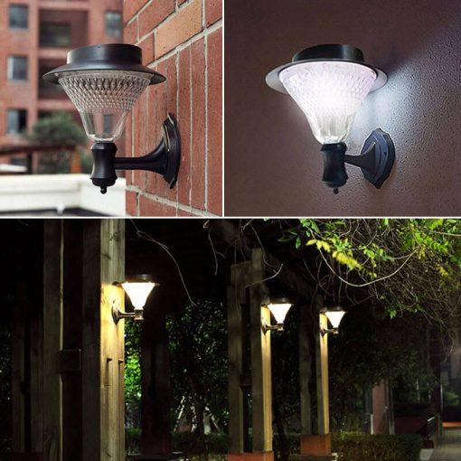 applique lanterne solaire jardin