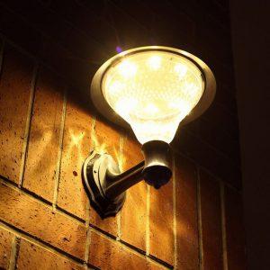 applique lanterne solaire led
