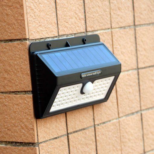 applique murale extérieur solaire avec detecteur terrasse