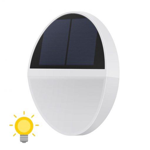 applique solaire ronde