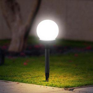 balise solaire boule extérieur