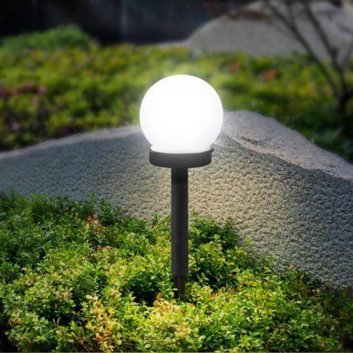 balise solaire boule jardin