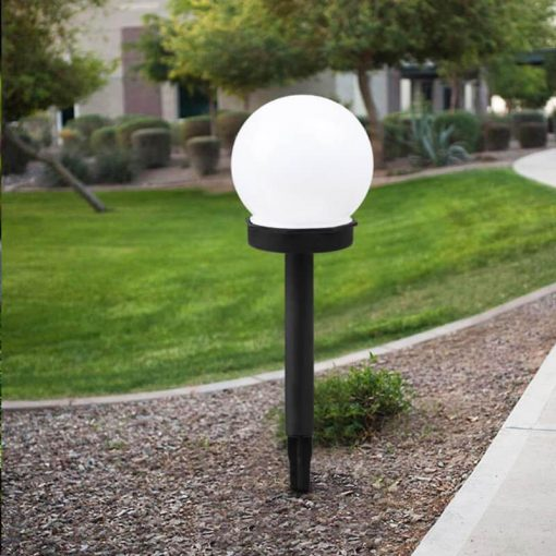 balise solaire boule led
