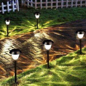 borne solaire jardin led puissante