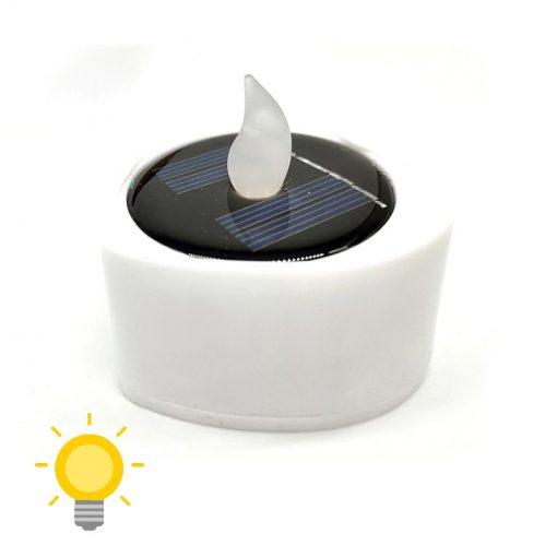 bougie solaire de table