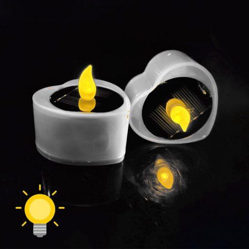bougie solaire de table exterieur