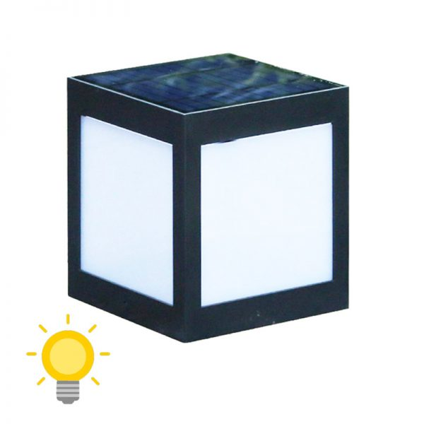 cube lumineux solaire