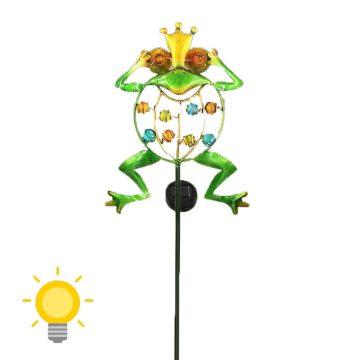 grenouille solaire exterieur