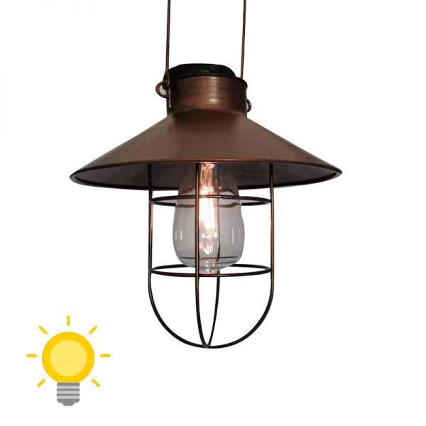 lampe exterieur suspendue solaire