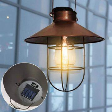 lampe exterieur suspendue solaire jardin