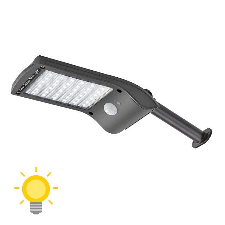 lampe led solaire avec detecteur de mouvement