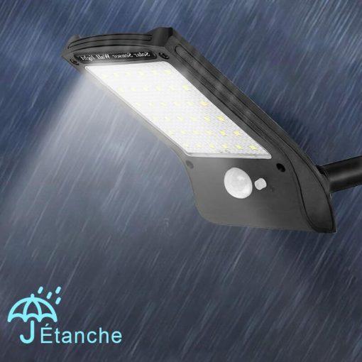 lampe led solaire avec détecteur puissante