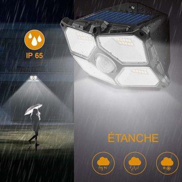 lampe led solaire terrasse exterieur