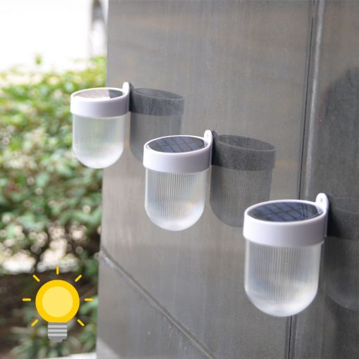 lampe murale solaire jardin exterieur