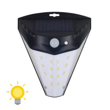 lampe murale solaire led
