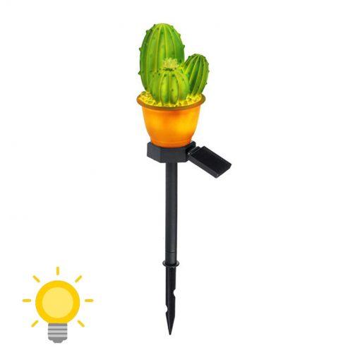 lampe solaire cactus exterieur