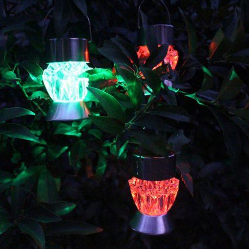 lampe solaire decoration exterieur jardin