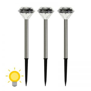 lampe solaire diamant