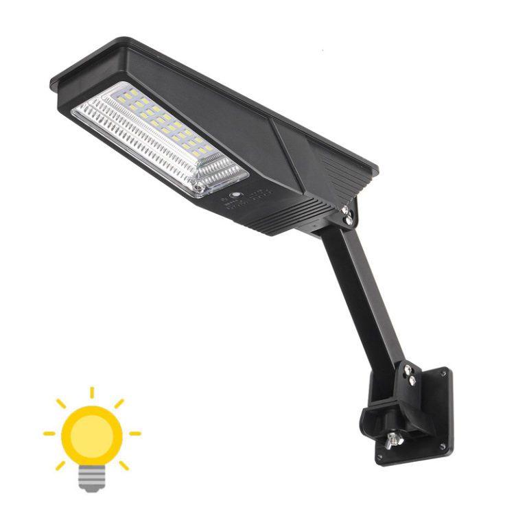 lampe solaire forte puissance avec detecteur de mouvement