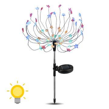 lampe solaire jardin couleur