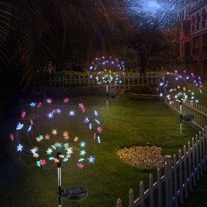lampe solaire jardin couleur extérieur