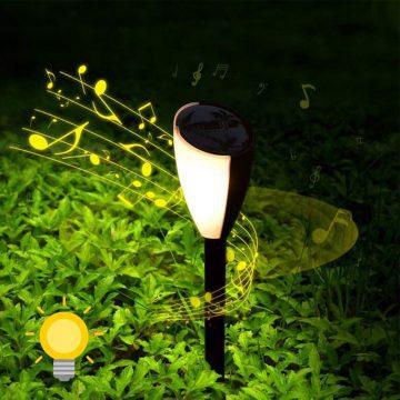 lampe solaire musicale exterieur