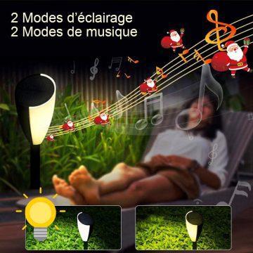 lampe solaire musicale jardin