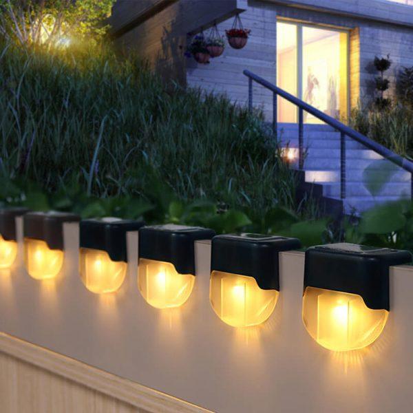 lampe solaire pour marche exterieur