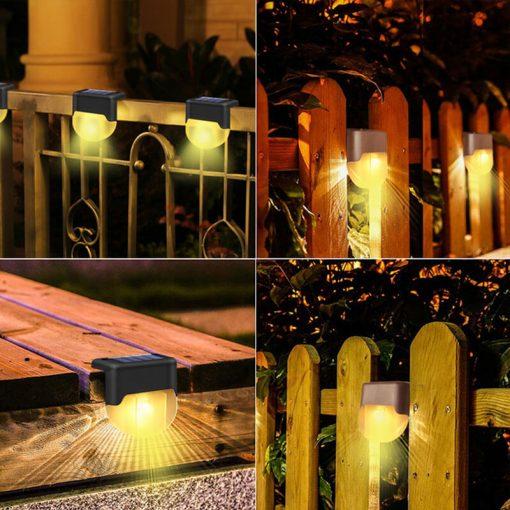 lampe solaire pour marche jardin