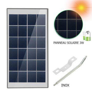 lampe solaire puissante avec detecteur JARDIN