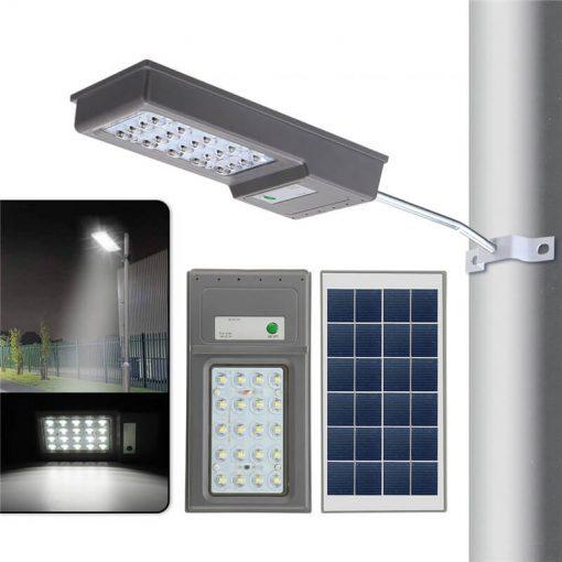 lampe solaire puissante avec détecteur led
