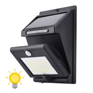 lampe solaire rotative