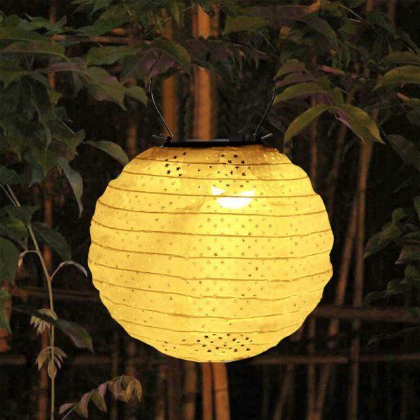 lanterne chinoise extérieur solaire exterieur