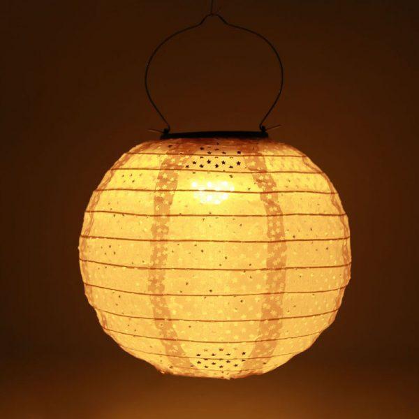 lanterne chinoise exterieur solaire jardin