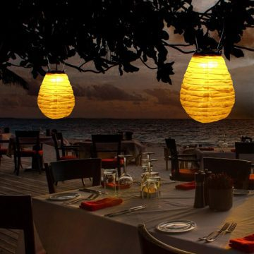 lanterne chinoise led solaire extérieur