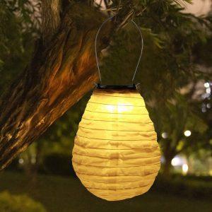 lanterne chinoise led solaire jardin