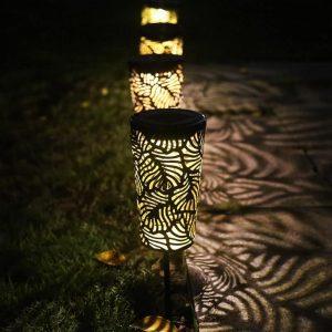 lanterne exterieur led solaire a planter